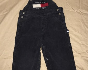 Tommy Hilfiger corduroy overalls