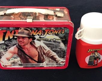 Indianer Jones Lunch Box 1984