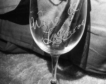Wine glass (wine & lularoe)