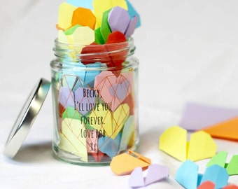 Personalised Origami Heart Kit