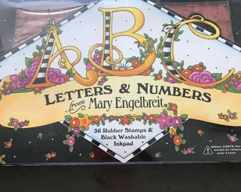 Letters and numbers from Mary Engelbreit