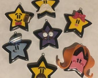 Full Set of (7) Mario Star Spirits