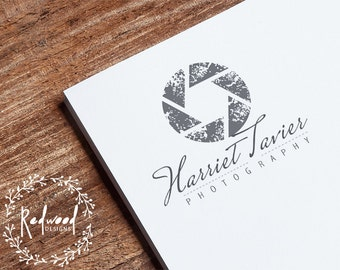 Premade Logo | Logo Design | Photography Logo | Photographers Logo | Monochrome Logo | Simple Logo | Vintage Logo | Classy Logo
