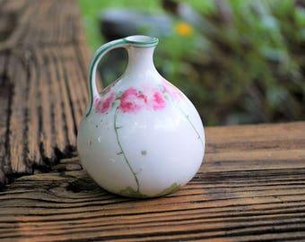 Scottish Proverb Mini Porcelain Vase