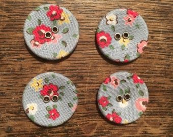 Cath Kidston Blue Floral Buttons