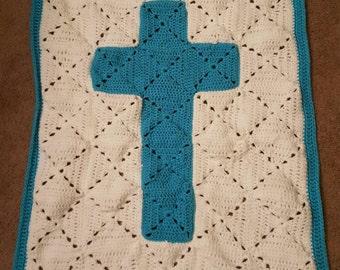 Cross Baby Blanket - customizable