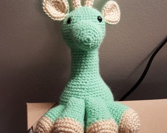 Amigurumi Crocheted Giraffe