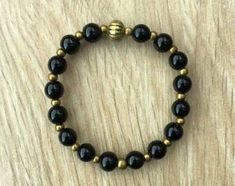 Informal elegant chic /onix/boho GOLDEN bracelet