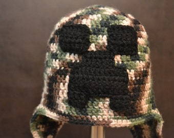 Minecraft Creeper Inspired Hat