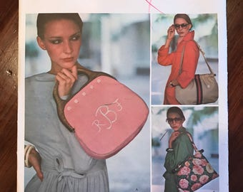 Vintage Vogue Pattern 1406 - Handbags - One Size