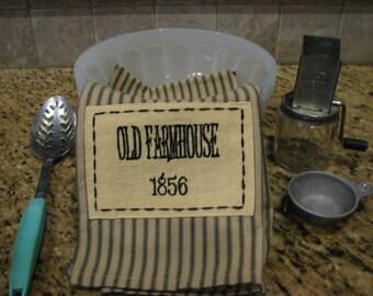 Old Farmhouse Towel