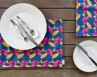 Handmade Placemats Willy Wagtail Design