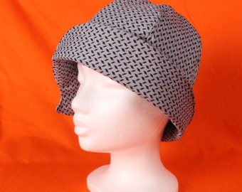 1920's Twenties Cloche Hat for Adult / Cloche hat / Downton Abbey / Fabric Hat / Flapper Hat / Vintage hats / Retro hat / Retro hats