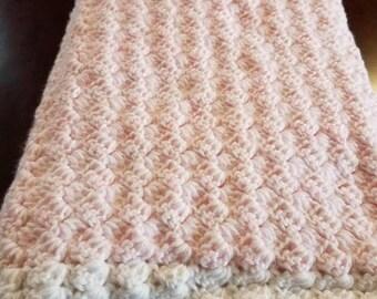 Pink blush Baby blanket