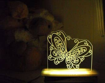 Bella the Butterfly Night Light