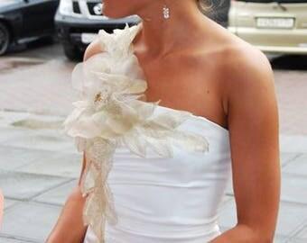 Short Wedding Dress.Bridal Dress.  Bridesmaid dress. Prom Dress. Bride Mother's Dress. Formal Dress.