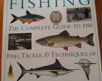 ENCYCLOPEDIA of FISHING by Dorling Kindersley hardback coffee table book