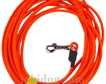Longe BIOTHANE Beta ronde 8 mm orange