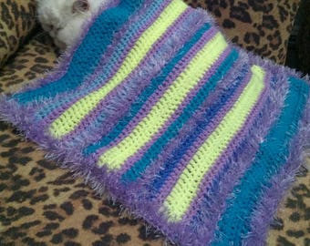 Knitted blanket,blanket or Mat for small dogs or cats.Gift for your beloved pet.Bedding for Pets.