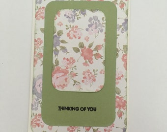 Handmade Card - Thinking of You (ToY4)