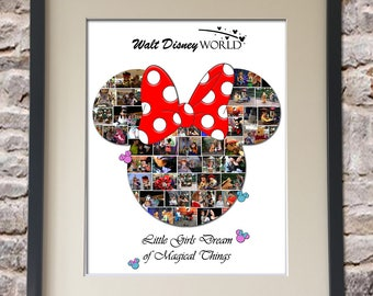 Minnie Digital Collage