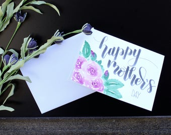 5 x 7 Mothers Day Card Hand Made