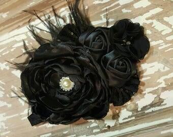 Beautiful black headband