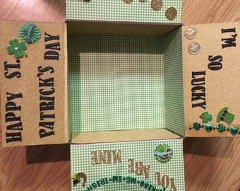 Homemade care package boxes
