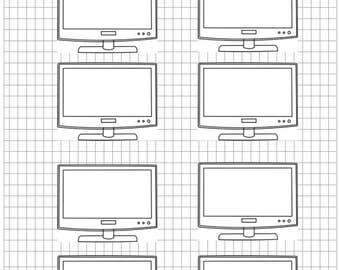 TV Shows I'm Currently Watching Printable