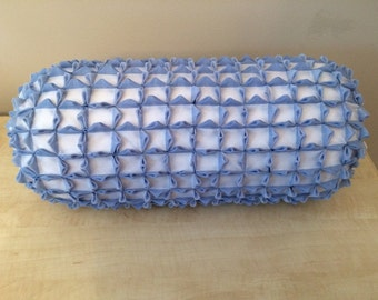 Smocked Roll Pillow