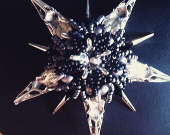 Dark skull pendants, Gothic, punk, wear something else, bird skull
