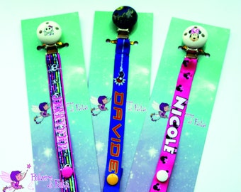 Personalized pacifier holder