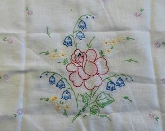 Handmade Flower Table Runner