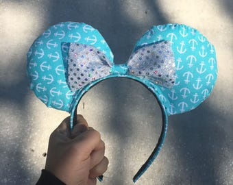 Beach Club Inspired Nautical Mouse Ears