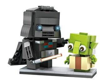 Loz Mini Blocks Star Wars Darth Vader and Yoda Figures