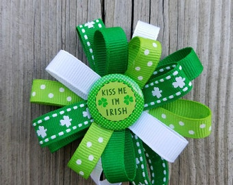 St. Patrick's Day Loop Bow