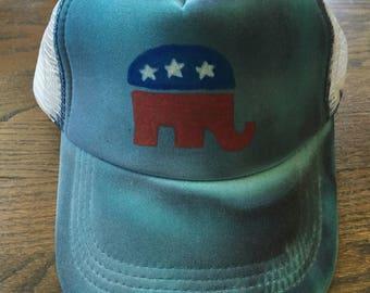 Custom GOP Republican Hat