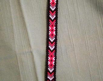 Braided bracelet, Handwoven bracelet, Knotted bracelet, Wrist band, String bracelet, Friendship bracelet, Macrame bracelet, Woven bracelet