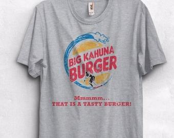 Big Kahuna Burger T-shirt Womens Pulp Fiction Tarantino