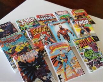 Edible Mini Comic Book Toppers