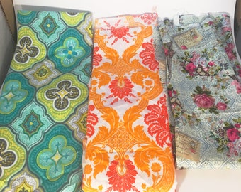 Fabric Variety, Cotton Fabric, Fabric Scraps, Quilting Supplies, Sewing Supplies