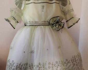 evening dress beaded for girls