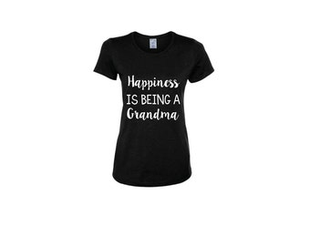 Happiness Is Being A Grandma Women's Shirt