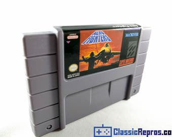 Aero Fighters - Super Nintendo Snes Reproduction Game - USA/ntsc Version - Fast US Shipping