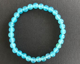 Chalcedony powerstone bracelet / crystal jewellery / fine jewellery collection