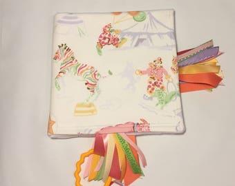 Sensory Ribbon Blanket