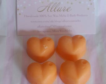 100% Soy Wax Melts- Peach