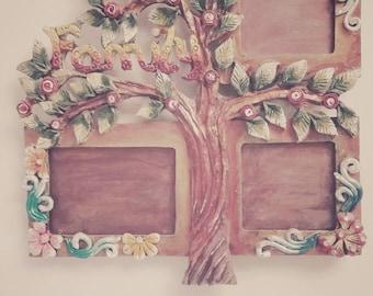 handmade photoframe||family tree