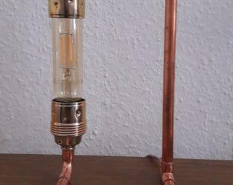 Copper handmade lamp