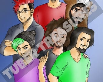 Lets Play Lot (Pewdiepie, Markiplier, JackSepticEye, CinnamonToastKen, Game Grumps)